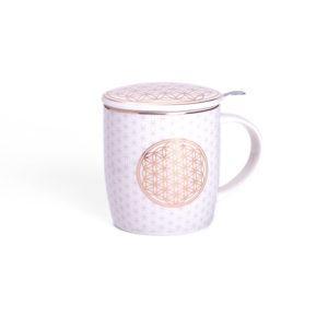 Teetasse - Blume des Lebens